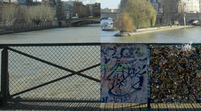 The Pont des Arts, Paris: Before…and Now