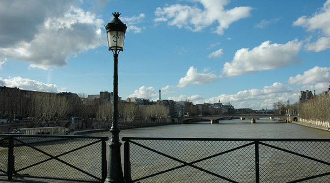 The REAL Pont des Arts, revealed once more