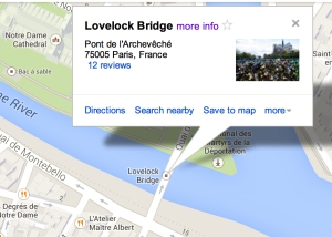 Uh, it's Pont de l'Archevêche last I checked folks.